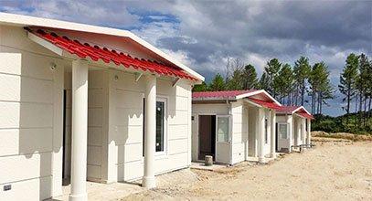 Проект за къща с метална конструкция в Панама