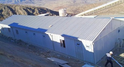 Сглобяеми постройки в обекта на Anagold Mining в Турция