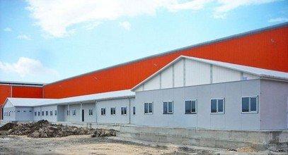 Сглобяеми работни постройки за компанията Ufuk Boru