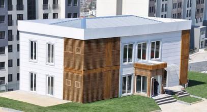 Луксозен офис за продажби на Проекта жилищен комплекс Boshphorus City