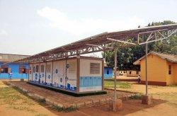 Новото поколение контейнери на Кармод се използват за съхранение на слънчева енергия в Нигерия