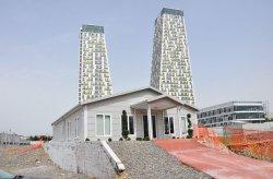 Постройка за информация и продажби на жилищен комплекс Monumento в квартал Картал