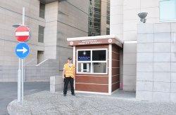 Модерните охранителни кабини на Кармод се използват в Истанбулската съдебната палата