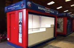 Кармод произведе складовите постройки на магазина на ПСЖ