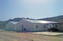 Сглобяеми жилища за работници на строителния обект на ТЕЦ Тунчбилек