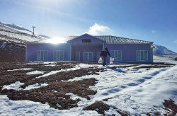 Нова постройка за ски центъра в планината Ерган