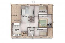 Проекти на Едноетажни Сглобяеми Къщи
