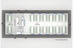 проекти за метални конструкции сглобяеми къщи