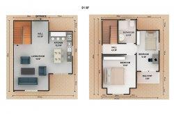 цени на къщи с метална конструкция